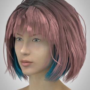 Virtual Hair for CLO3d FV_1